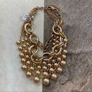 Free people large collar statement necklace